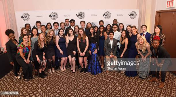 Cool J Wposes With We Are Family Foundation GTLS Members During The 2018