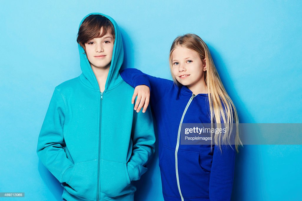 Cool kids : Stock Photo