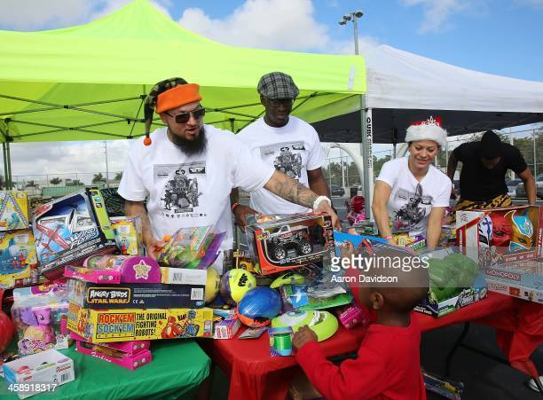 Cool partcipates in Cool Dre 1st Annual Toy Drive on December 21 2013 in Miami Florida