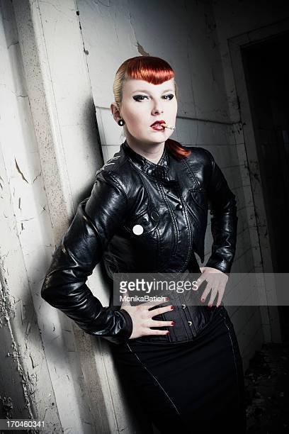 cool rockabilly girl