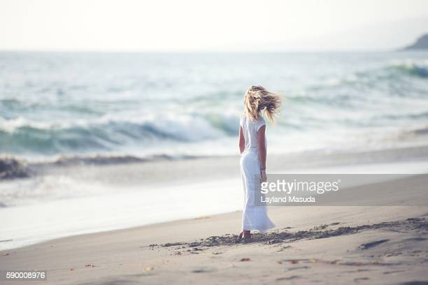 Cool Sea Breeze - Young Girl