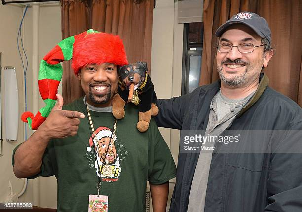 Cool V and Robert Smigel voice behind Triumph the Insult Comic Dog attend Yo Gabba Gabba Live at The Beacon Theatre on December 21 2013 in New York...