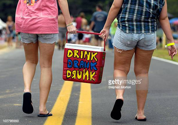 Coolers are allowed and drinking is encouraged during the 14th Annual Summer Redneck Games July 10 2010 in East Dublin Georgia Started in 1996 as a...