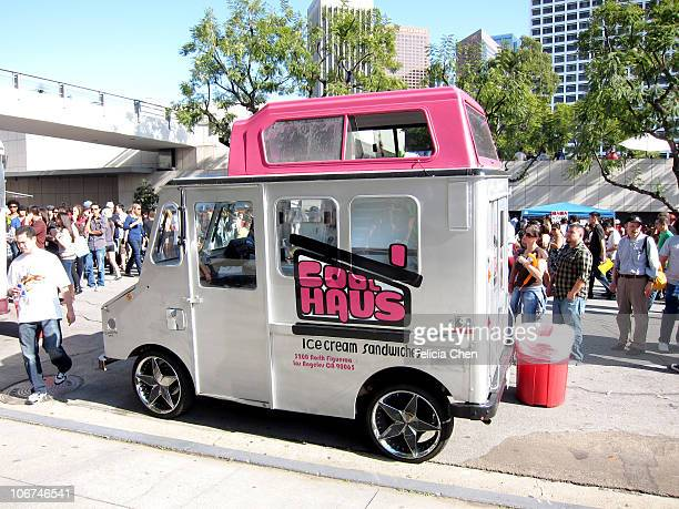 Coolhaus truck; at the LA Street Food Festival.