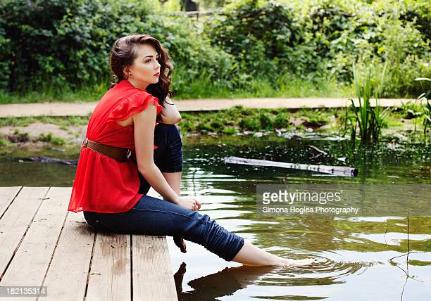 cooling down - down blouse stock pictures, royalty-free photos & images