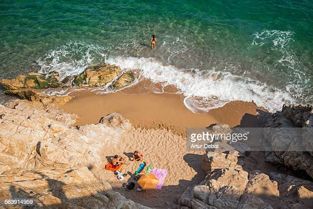 cooling off - maresme stock photos and pictures
