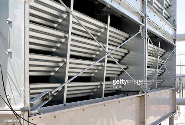 cooling tower detail - cooling tower stock pictures, royalty-free photos & images