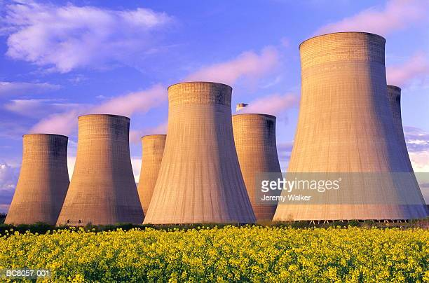 Cooling towers of coal-fired power station, England