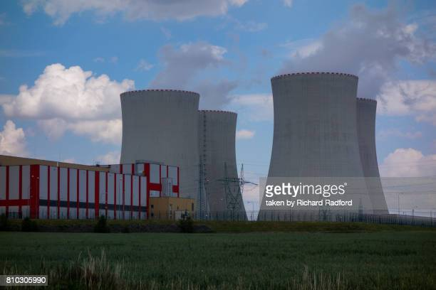 Cooling towers of the Temelin Nuclear Power Plant