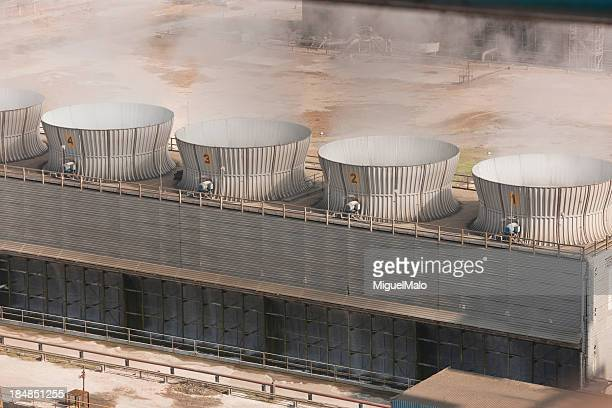 cooling towers - cooling tower stock pictures, royalty-free photos & images