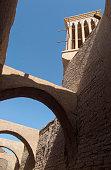 Cooling wind tower, Yazd, Iran