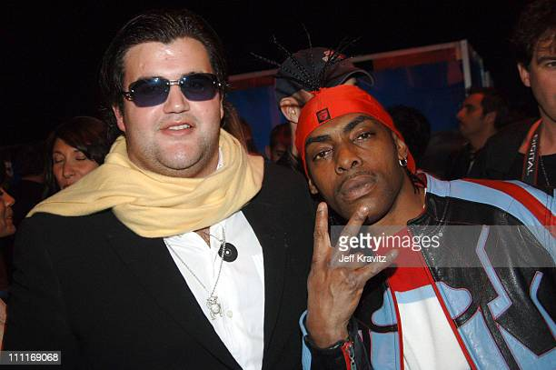 Coolio and Jason Davis during VH1 Big in '05 After Party in Los Angeles California United States