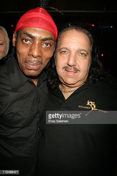 Coolio and Ron Jeremy during Ron Jeremy's Birthday Bash Celebration March 10 2007 at Element in Hollywood California United States