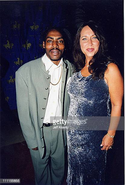 Coolio and wife Josefa Salinas during Carousel of Hope '98 in Los Angeles California United States
