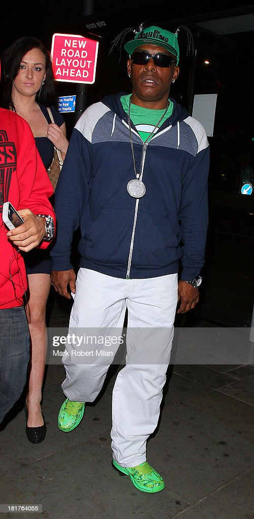 Coolio at Boujis night club on September 24, 2013 in London, England.