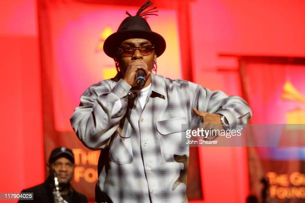 Coolio during 8th Annual Music on Film Preservation Project New Orleans Rising at Wilshire Ebell Theater in Los Angeles California United States