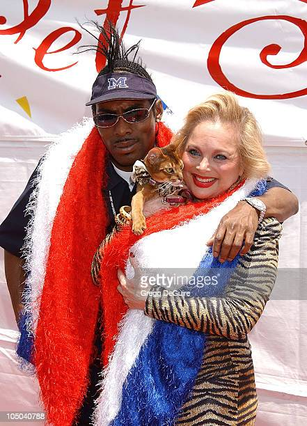 Coolio NLyrics Carol Connors during Pet Orphan Fund Presents Pet Spectacular at Staples Center in Los Angeles California United States