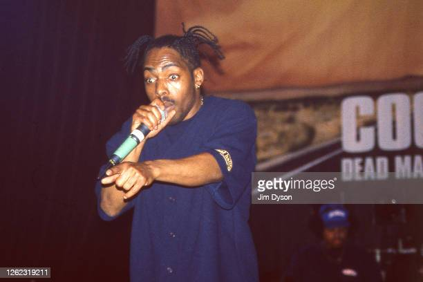 Coolio performs live on stage at Blackheath Hall on March 27 1999 in London