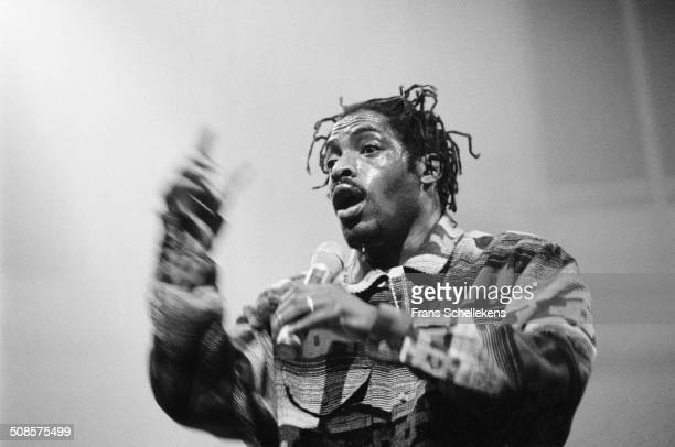 Coolio, vocal, performs at the Paradiso on 17th January 1996 in Amsterdam, Netherlands.