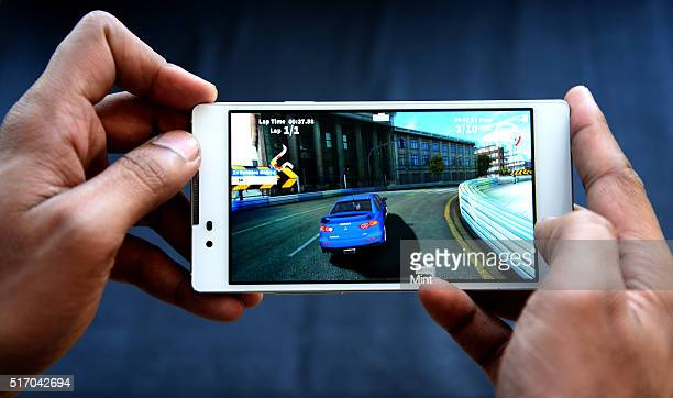 Coolpad launches Dazen X7 a midsegment phone on June 4 2015 in New Delhi India