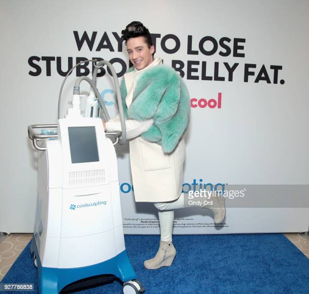 CoolSculpting by Allergan hosted CoolSculpting on Ice at Rockefeller Center in New York City on Monday March 5 with figure skating superstar Johnny...