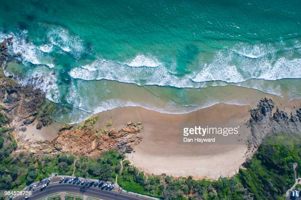 coolum bays - sunshine coast australia stock pictures, royalty-free photos & images