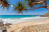 Coolum beach on Queensland's Sunshine Coast in Australia