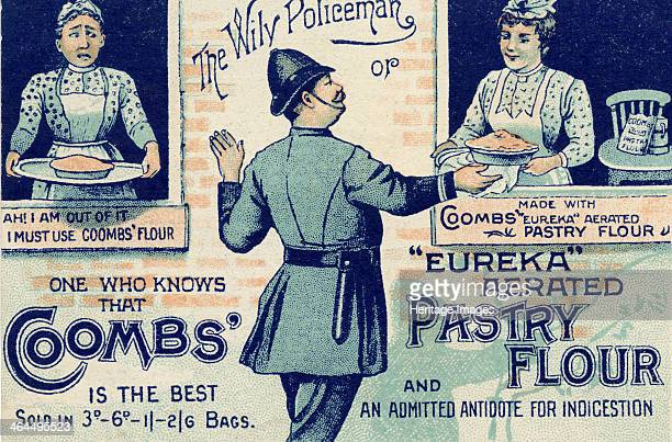 Coombs? 'Eureka' Aerated Pastry Flour 'Antidote for Indigestion', c.1900.