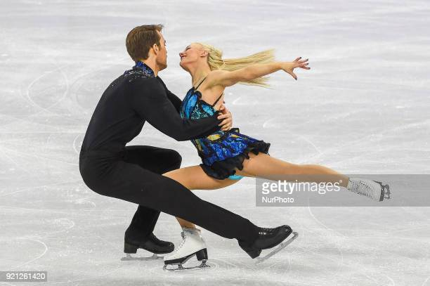Coomes Penny and Buckland Nicholas of  Great Britain competing in free dance at Gangneung Ice Arena Gangneung South Korea on February 20 2018