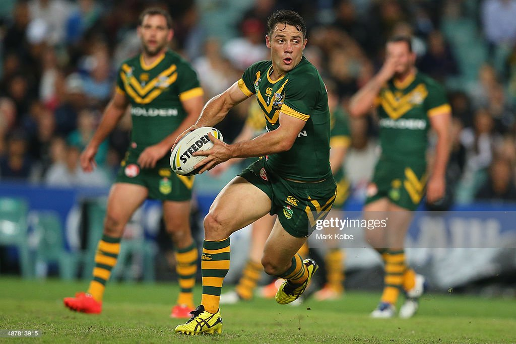 Australia v New Zealand - ANZAC Test : News Photo