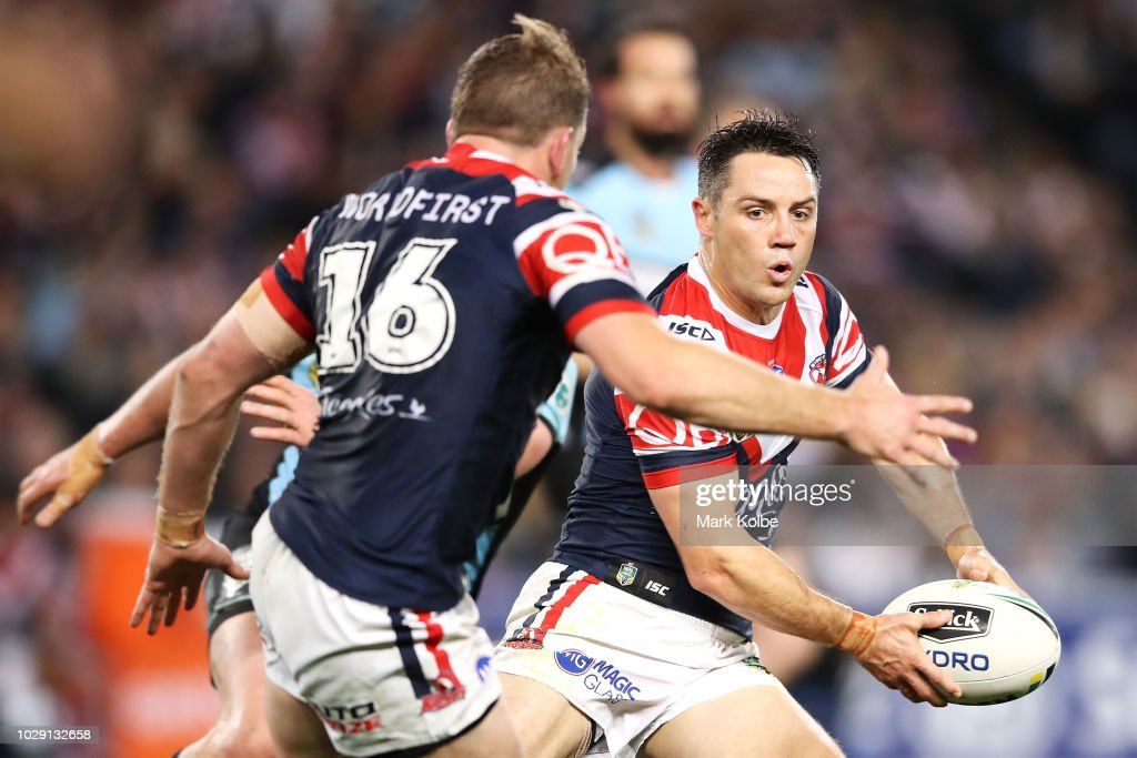 NRL Qualifying Final - Roosters v Sharks : News Photo