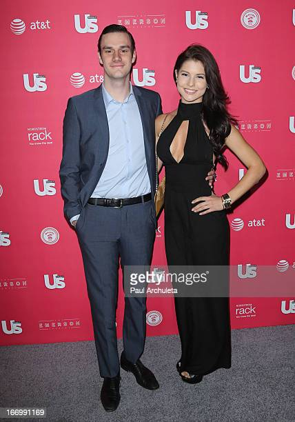 Cooper Hefner and Playboy Playmate Amanda Cerny attend Us Weekly's annual Hot Hollywood Style issue party at The Emerson Theatre on April 18, 2013 in...