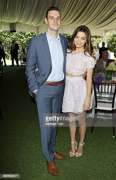 Cooper Hefner attends Playboy's 2014 'Playmate Of The Year' announcement held at The Playboy Mansion on May 15 2014 in Beverly Hills California