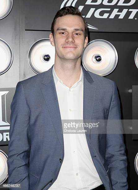 Cooper Hefner attends The Playboy Party at The Bud Light Hotel Lounge on Friday January 31 2014 in New York City