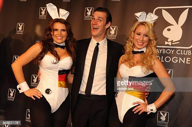 Cooper Hefner beim PreOpenenig des Playboy Clubs in Köln