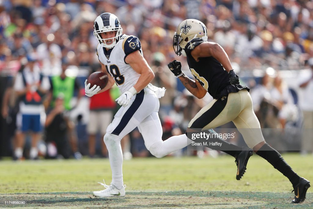 New Orleans Saints v Los Angeles Rams : ニュース写真