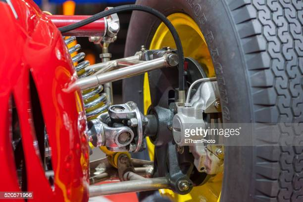 cooper maserati t53 racing car - mini cooper stock pictures, royalty-free photos & images