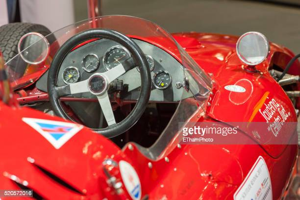 cooper maserati t53 racing car (1961) - mini cooper stock pictures, royalty-free photos & images