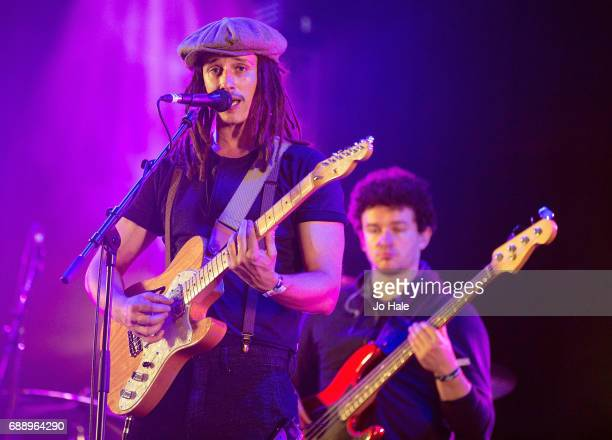 Cooper performs on stage at Day 1 of BBC Radio 1's Big Weekend 2017 at Burton Constable Hall on May 27 2017 in Hull United Kingdom
