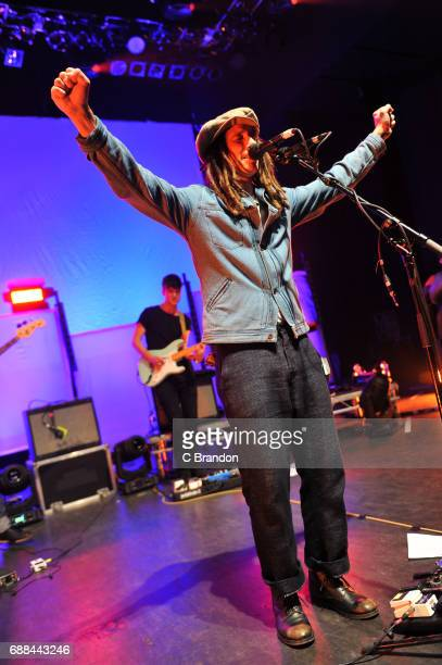 Cooper performs on stage at the O2 Shepherd's Bush Empire on May 25, 2017 in London, England.