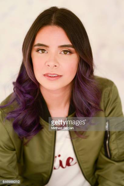 Cooper poses for portraits at New Faces at the Artists Project on March 1, 2017 in Los Angeles, California.