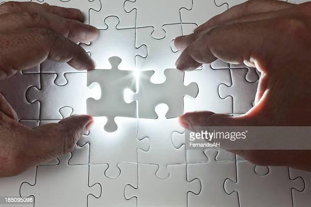 La cooperación para resolver un rompecabezas