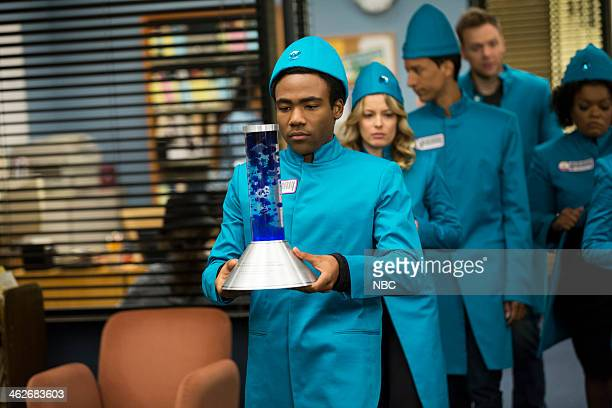 COMMUNITY 'Cooperative Polygraphy' Episode 503 Pictured Donald Glover as Troy Gillian Jacobs as Britta Danny Pudi as Abed Joel McHale as Jeff Yvette...