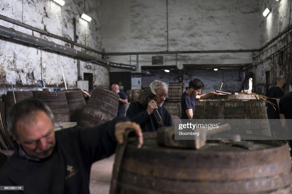 Coopers Assemble Barrels Ahead Of Grape Harvest In Portugal's Port Region