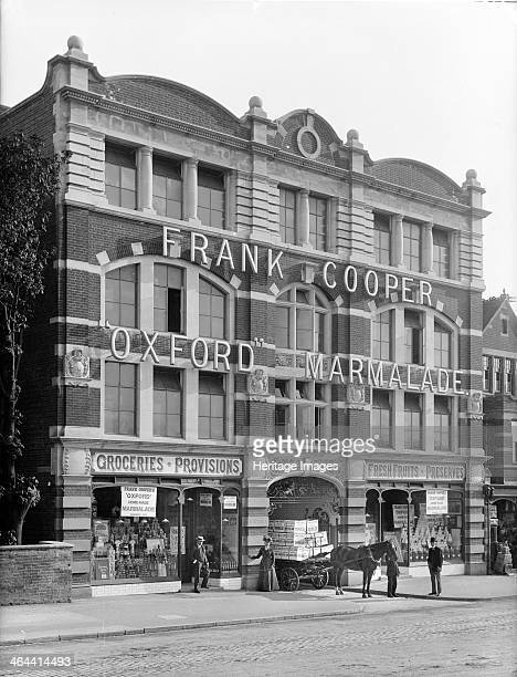Coopers Marmalade Factory Park End Street Oxford Oxfordshire c1860c1922 The front of the factory opened in 1900 to meet increasing demand for the...