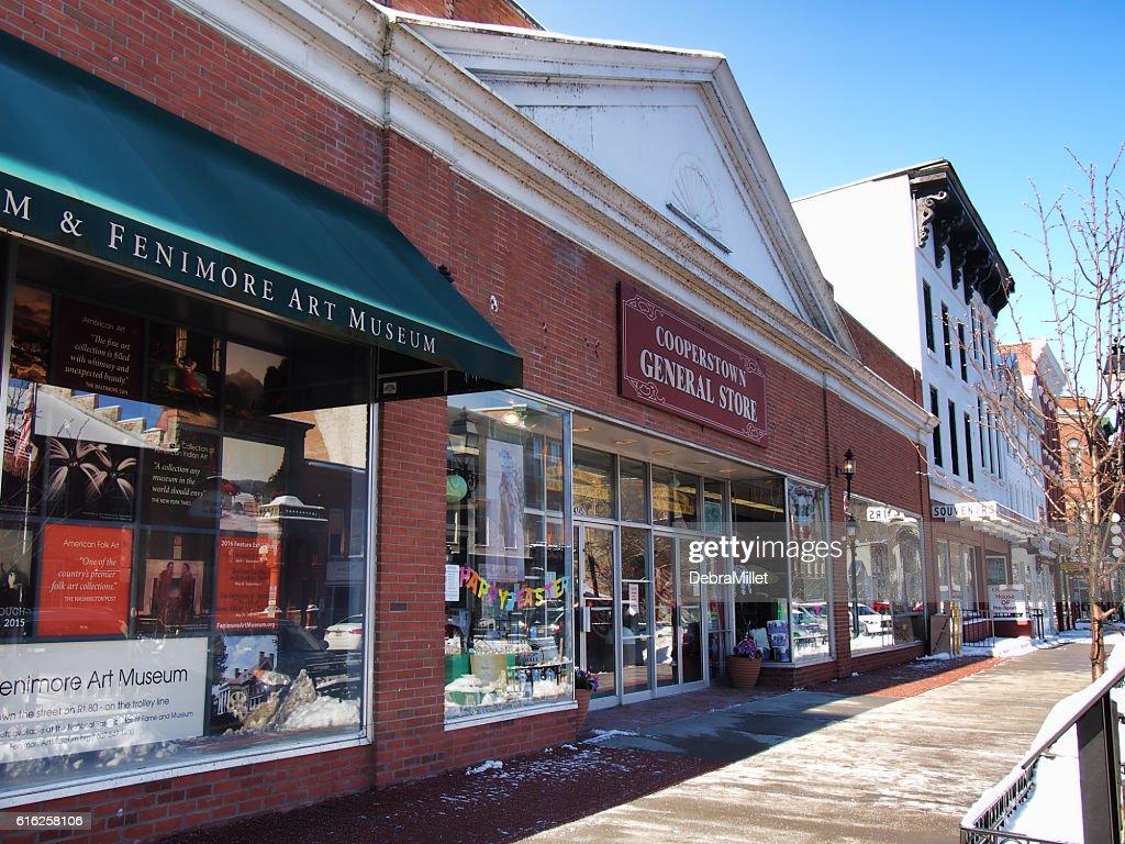 Cooperstown General Store : Foto de stock
