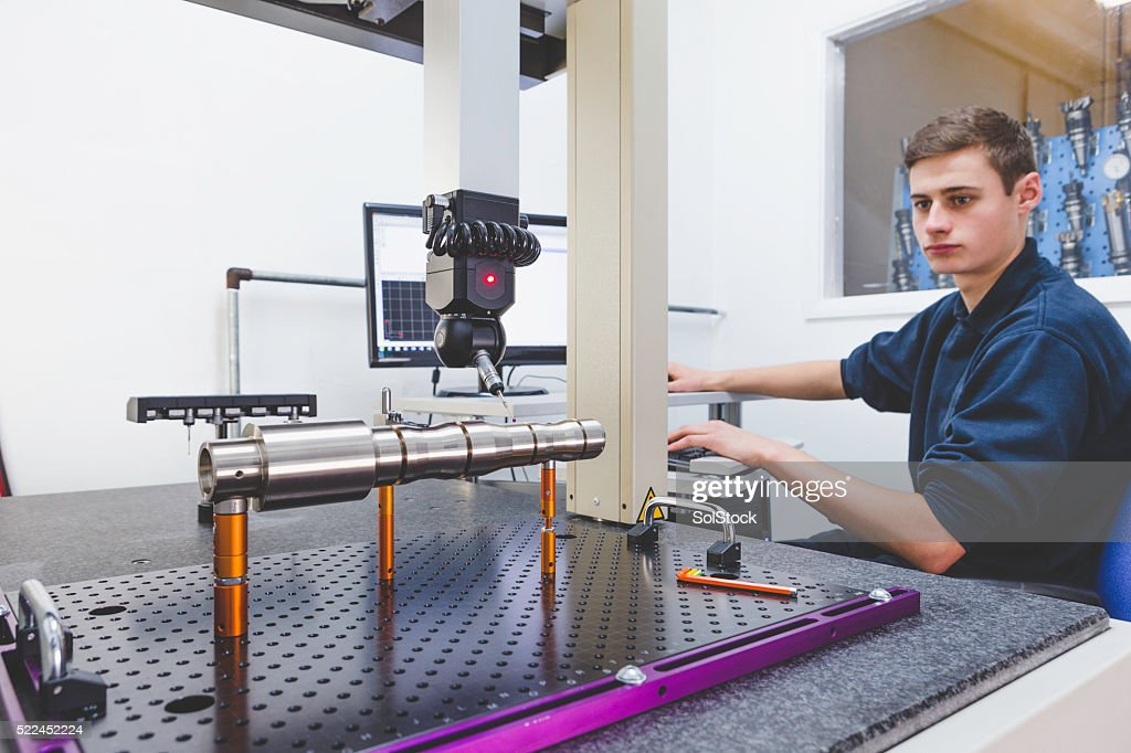 Coordinate Measuring Machine : Stock Photo