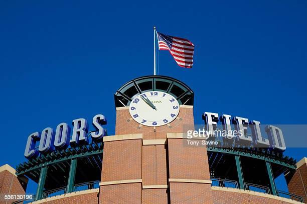 Coors Field baseball stadium home of the Colorado Rockies