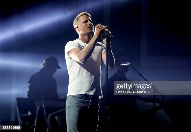 Coost Dierks Bentley performs onstage during the 52nd Academy of Country Music Awards at TMobile Arena on April 2 2017 in Las Vegas Nevada