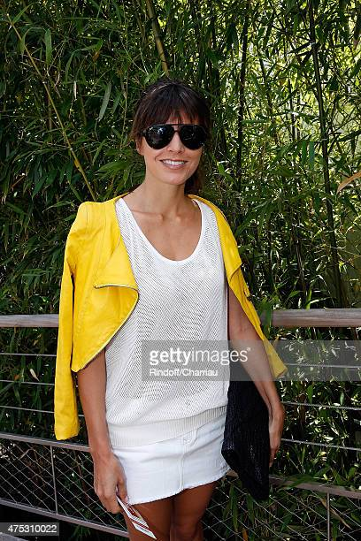 CoOwner of Leetha Caroline Nielsen attends the French Tennis Open 2015 at Roland Garros on May 30 2015 in Paris France